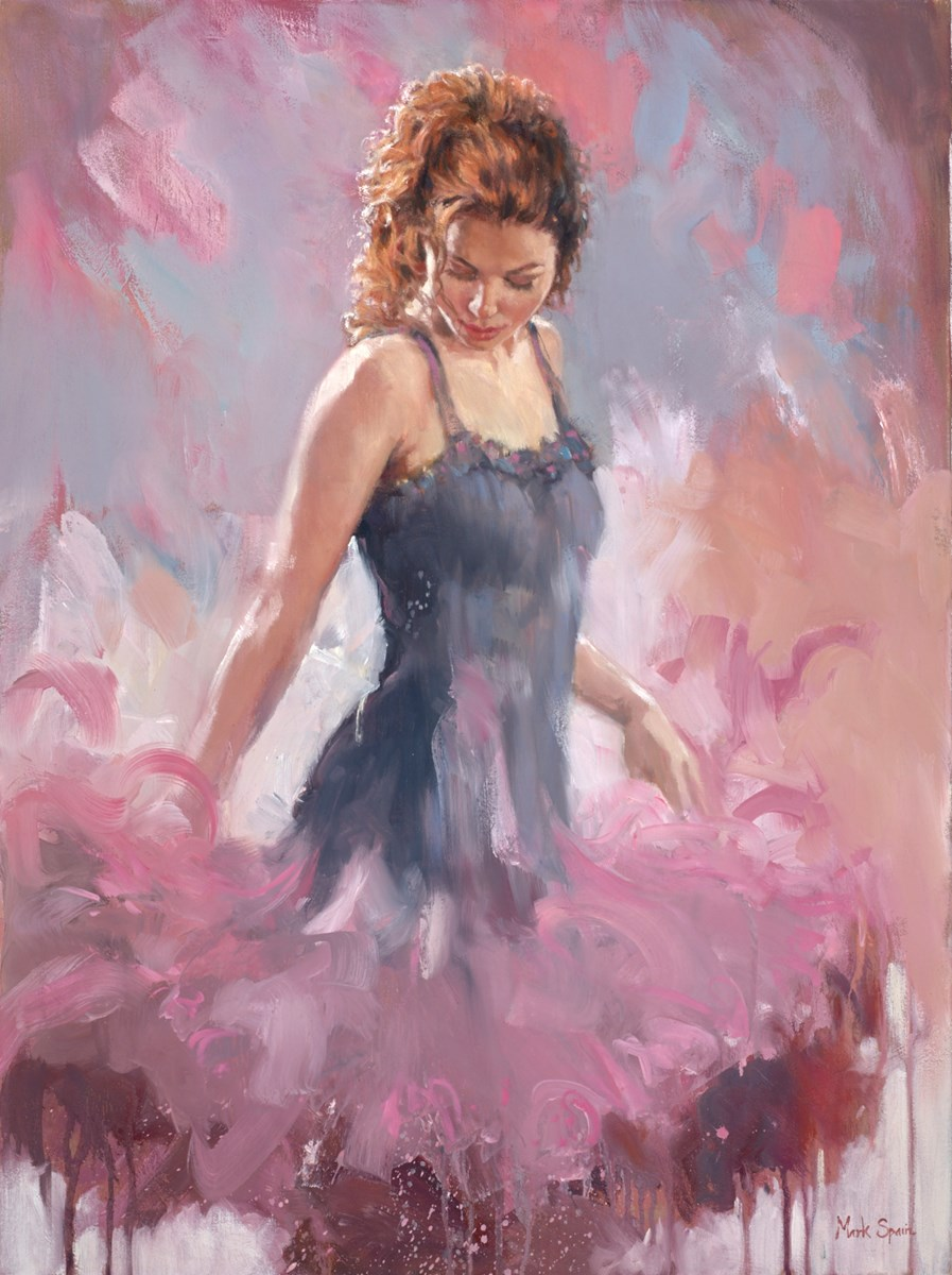 Blue Pastel Dress II by mark spain -  sized 24x32 inches. Available from Whitewall Galleries